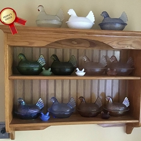 Indiana Glass Hens on Nests Collection